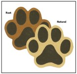 Of Wall Things: Paw Print bulletin board
